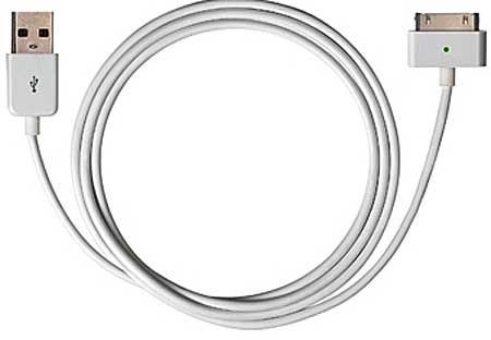 Kabel USB 2.0 - iPhone 30p, délka 1m