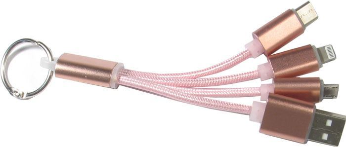 Univerzální USB redukce USB (A)/ USB MICRO/ USB (C) / Lightning