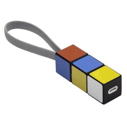 Nabíjecí a datový kabel s konektory USB, Micro USB a USB typu C