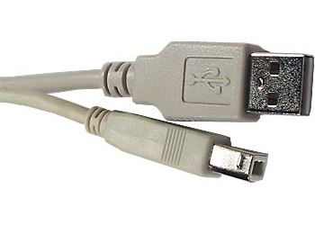 Kabel USB 2.0 konektor USB A / USB B, 1,8m