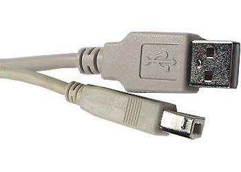 Kabel USB 2.0 konektor USB A / USB B, 3m