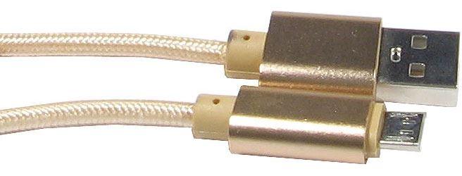 Kabel USB 2.0 konektor USB A / Micro-USB 25cm
