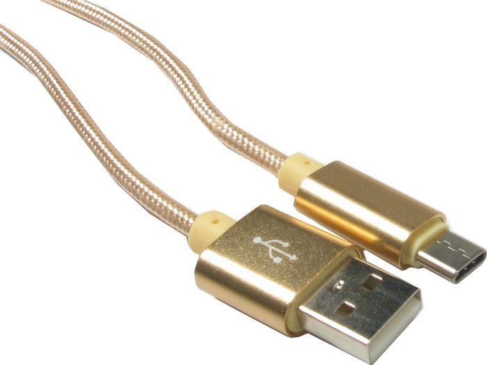 Kabel USB 2.0 konektor USB (A) / USB (C) 1m