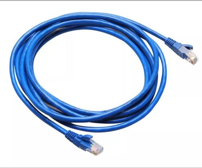 UTP kabel Patch RJ45 2m modrý Cat5e