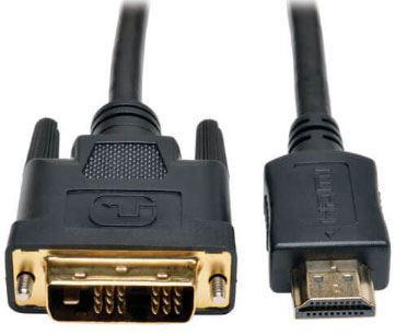 Kabel DVI-D(18+1) - HDMI 1m Inakustik Matrix S-1