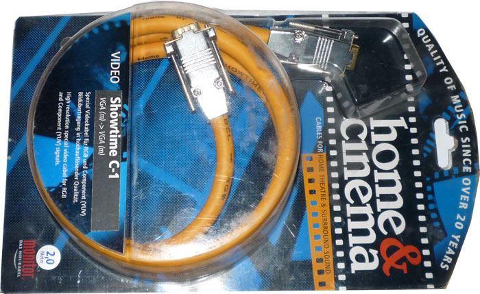 Kabel VGA 15p-VGA 15p 2m, Inakustik SHOWTIME C-1