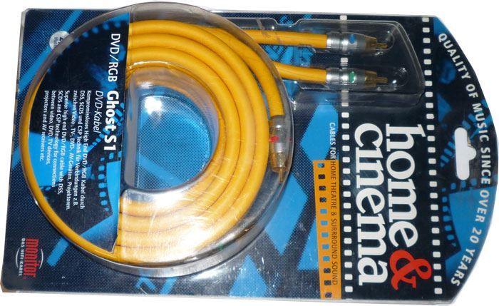 3xCinch - 3xCinch 2m, kabel Inakustik GHOST S1 RGB