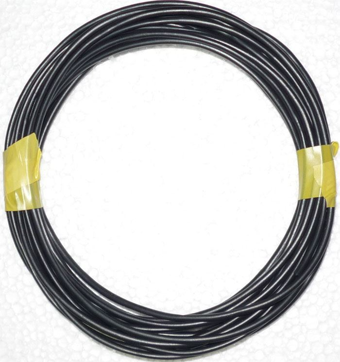 Izolační a ochranná bužírka Kablo 041 2,5x0,5mm, černá, balení 5m