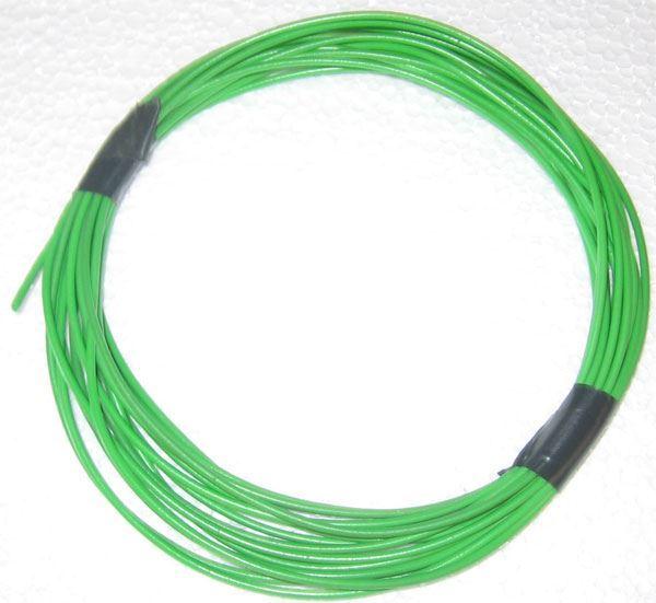 Izolační a ochranná bužírka Kablo 042 2x0,5mm, zelená, balení 5m