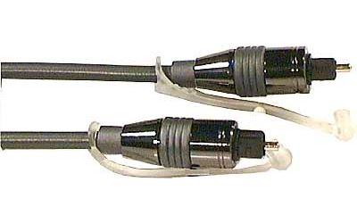 Kabel optický TOSLINK-TOSLINK 5mm/3m kovové konek