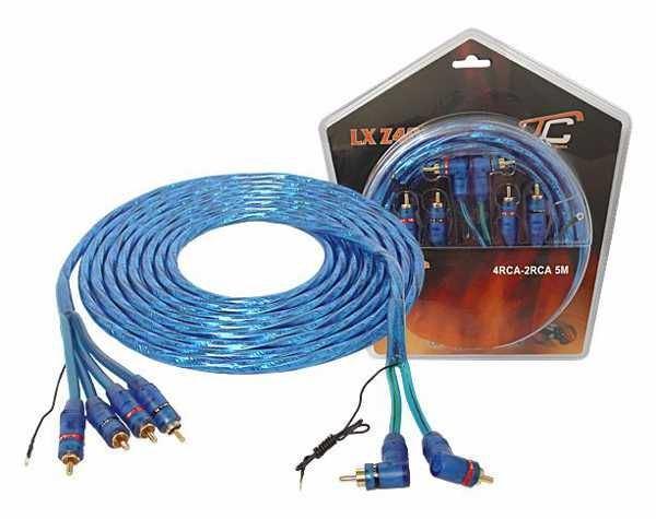 Kabel 2xCinch-4xCinch 5m LTC AUDIO