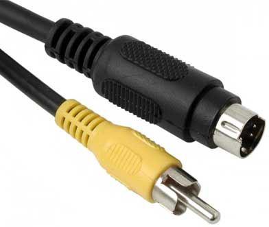Kabel S VHS-Cinch  2m