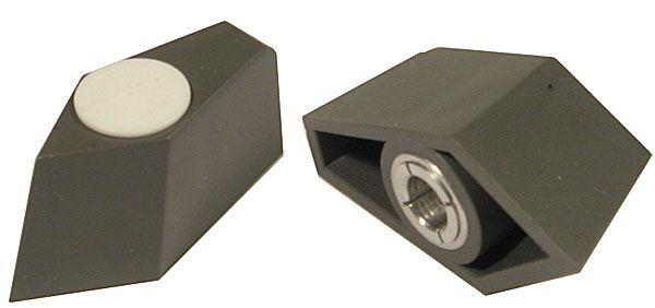 Přístrojový knoflík - šipka WF24333, L=32mm, na hřídel 6mm