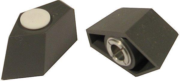 Přístrojový knoflík - šipka WF24334, L=40mm, na hřídel 6mm