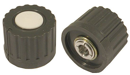 Přístrojový knoflík WF24317, průměr 25mm, hřídel 6mm