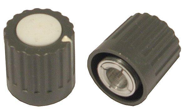 Přístrojový knoflík WF24314, průměr 16mm, hřídel 6mm