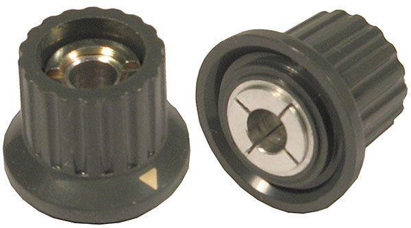 Přístrojový knoflík WF24321, průměr 24mm, hřídel 6mm