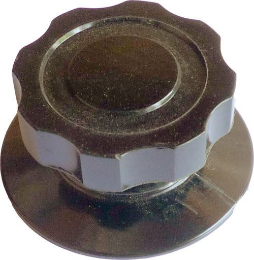 Knoflík XF24202 bakelitový, 50x24mm, hřídel 6mm