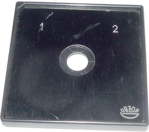 Štítek 65x65mm k vačkovým spínačům, provedení 01