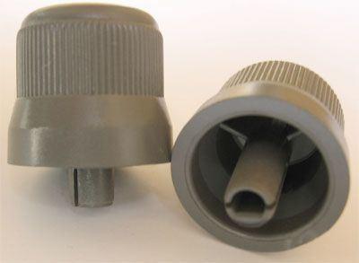 Přístrojový knoflík 20x25mm, hřídel=4mm