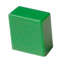 Hmatník pro izostat zelený 11x10x6mm