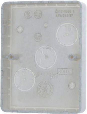 Krabice na omítku dvojitá nízká 4FA24927