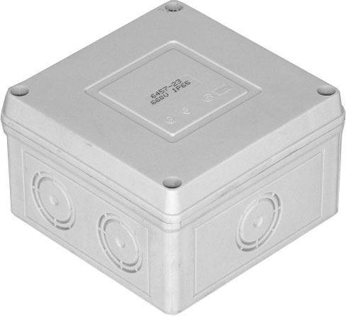Krabice rozvodná 6457-19 SEZ, 89x89x56mm