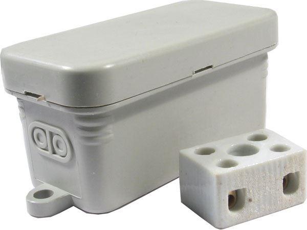 Instalační krabička JBC1, 80x35x40mm včetně svorkovnice