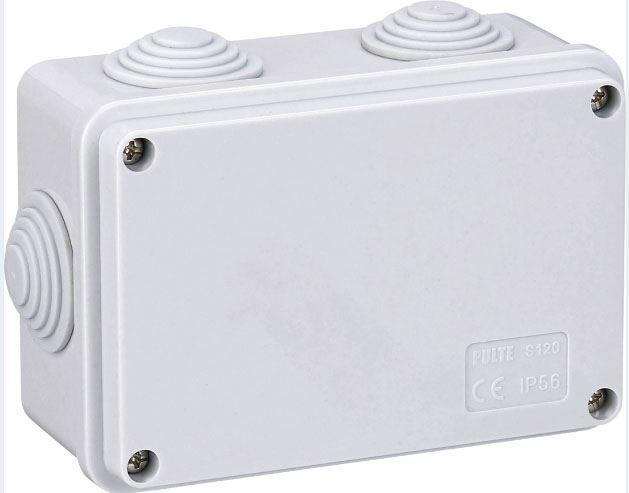 Instalační krabička S120, 120x80x50mm, 6x průchodka