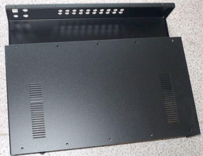 Přístrojová krabice 435x245x85mm plechová