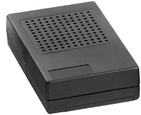 Krabička plastová KM33 118x74x29mm s bateriovým prostorem