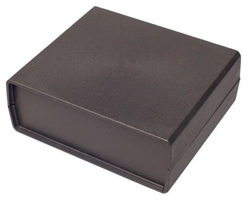 Krabička plastová Z4A /KP7/ 138x159x59mm s bočními panely