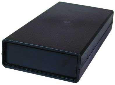 Krabička plastová Z37 /KP28/ 260x127x48mm s bočními panely