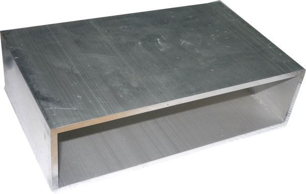 Krabička hliníková dvoudílná 180x107x50mm-pouze vnější plášť