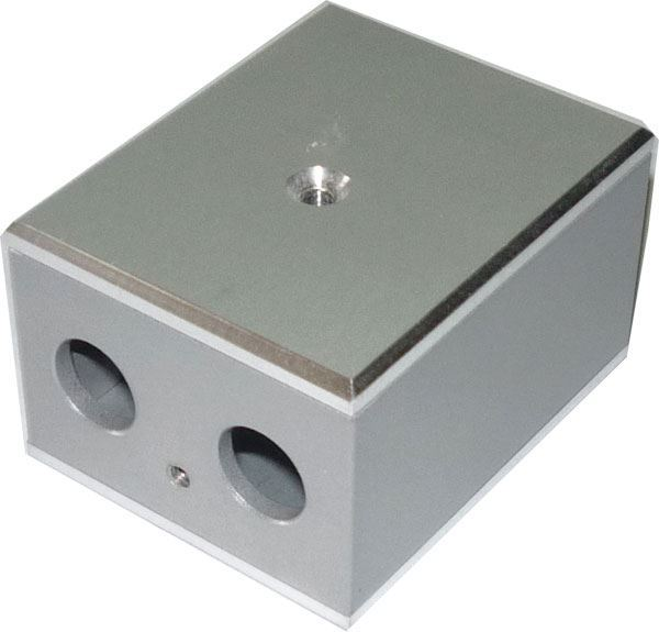 Krabička hliníková třídílná 50x40x30mm, tl.3mm