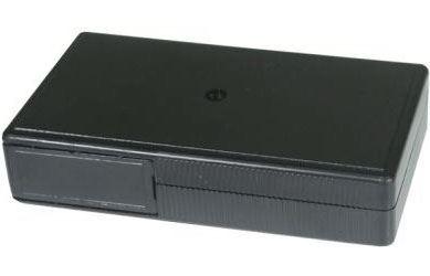 Krabička plastová KM26 110x60x25mm s bateriovým prostorem