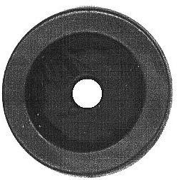 Nožka gumová GN1, průměr 14mm