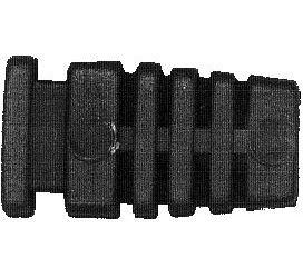 Kabelová průchodka PR4H plast hranatá pro kabel 4mm