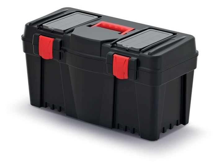 Kufr na nářadí 25 plastový CALIBER N25S