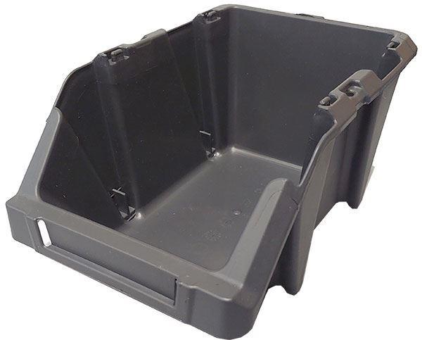 Stohovací bedna plastová KPA20, 148x255x114mm, šedá