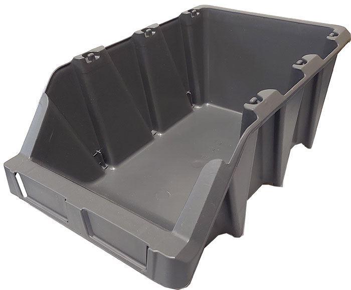 Stohovací bedna plastová KPA30, 220x355x150mm, šedá