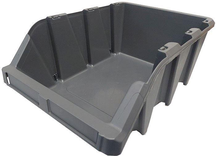 Stohovací bedna plastová KPA40, 314x497x190mm, šedá
