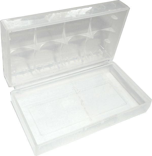 Krabička pro 2 nabíjecí články 18650 71x40x19mm