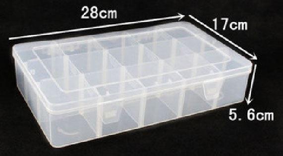 Krabička na součástky 280x170x56mm 15sekcí
