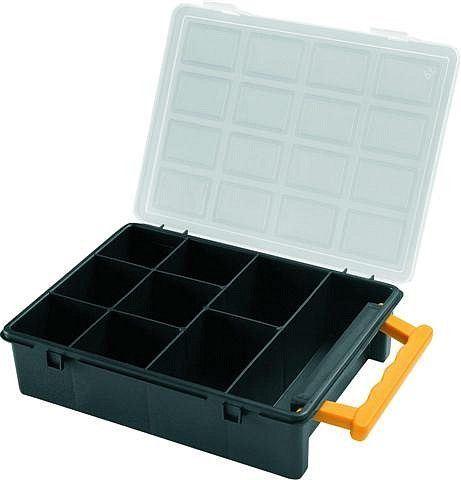 Krabička na součástky 242x188x60mm 9sekcí, ArtPlast 3350