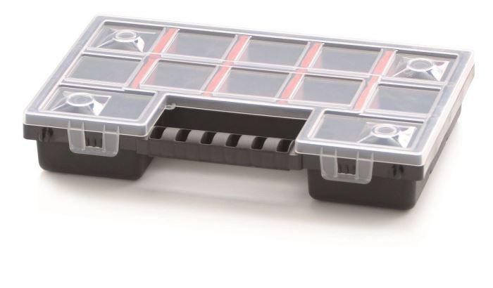 Krabička na součástky 290x195x35mm NOR12