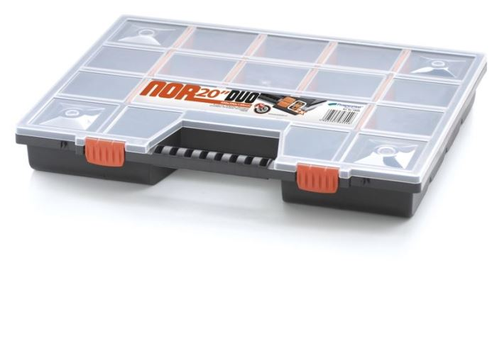 Krabička na součástky 490x390x65mm NOR20
