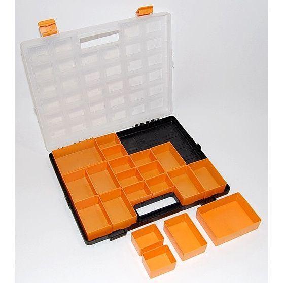Krabička na součástky 20 vyjímatelných sekcí, ArtPlast 2211