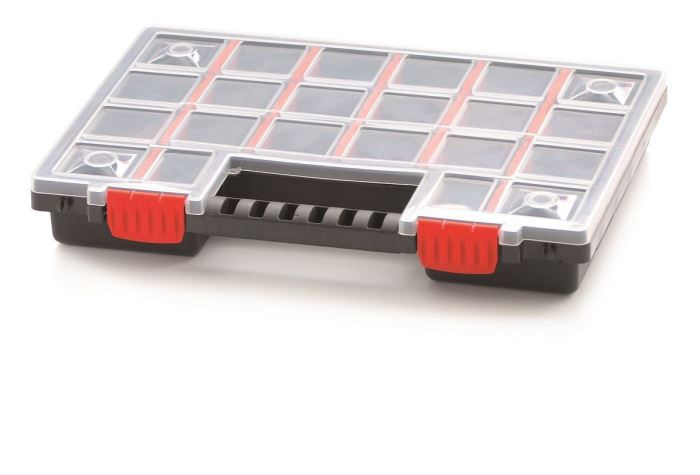 Krabička na součástky 344x249x50mm NORP14