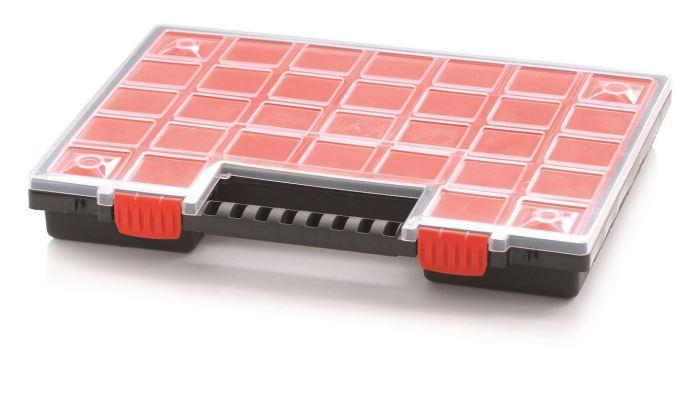 Krabička na součástky 399x303x50mm NORP16